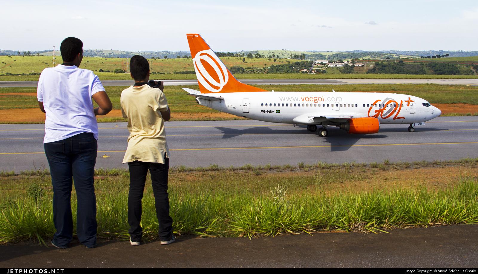PR-VBW - Boeing 737-7BX - GOL Linhas Aéreas