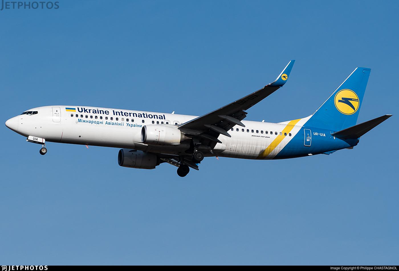 UR-UIA - Boeing 737-8KV - Ukraine International Airlines