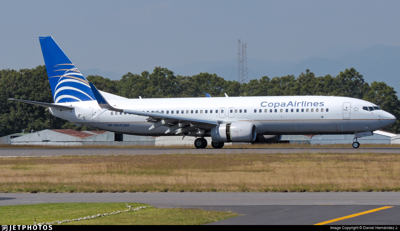 HP-1837CMP - Boeing 737-8V3 - Copa Airlines