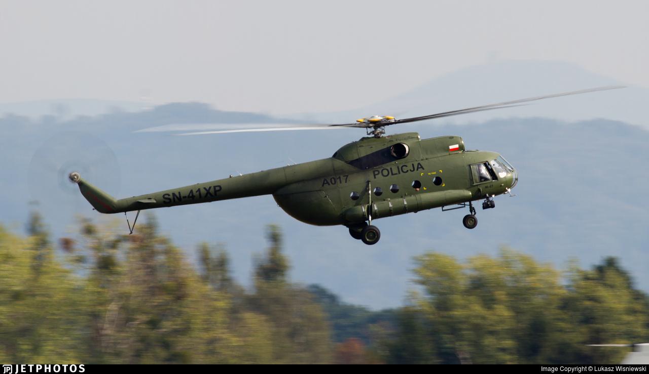 SN-41XP - Mil Mi-8T Hip - Poland - Police