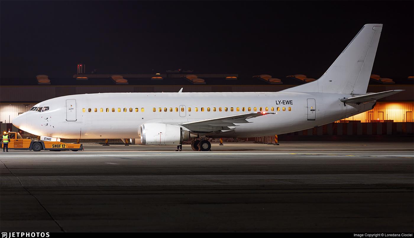 LY-EWE - Boeing 737-33R - GetJet Airlines