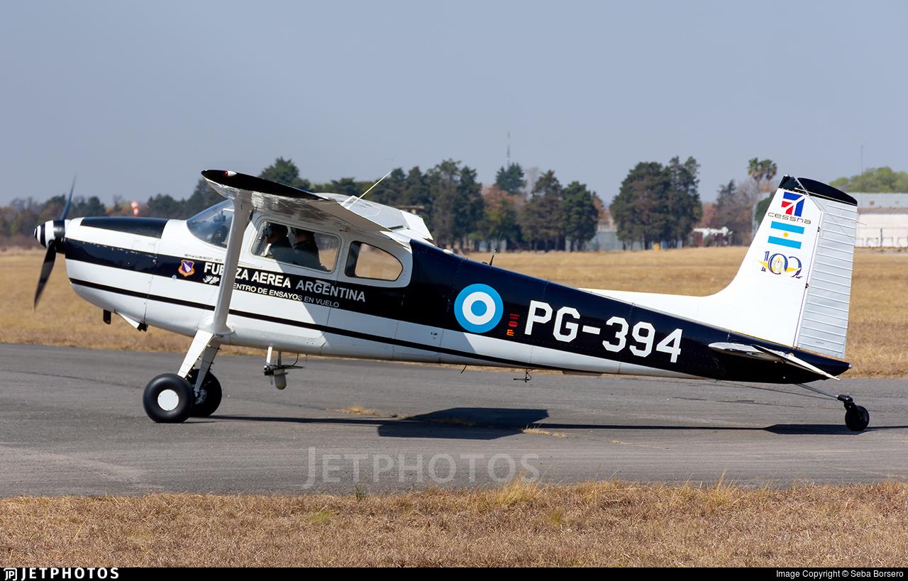 PG-394 - Cessna 180F Skywagon - Argentina - Air Force