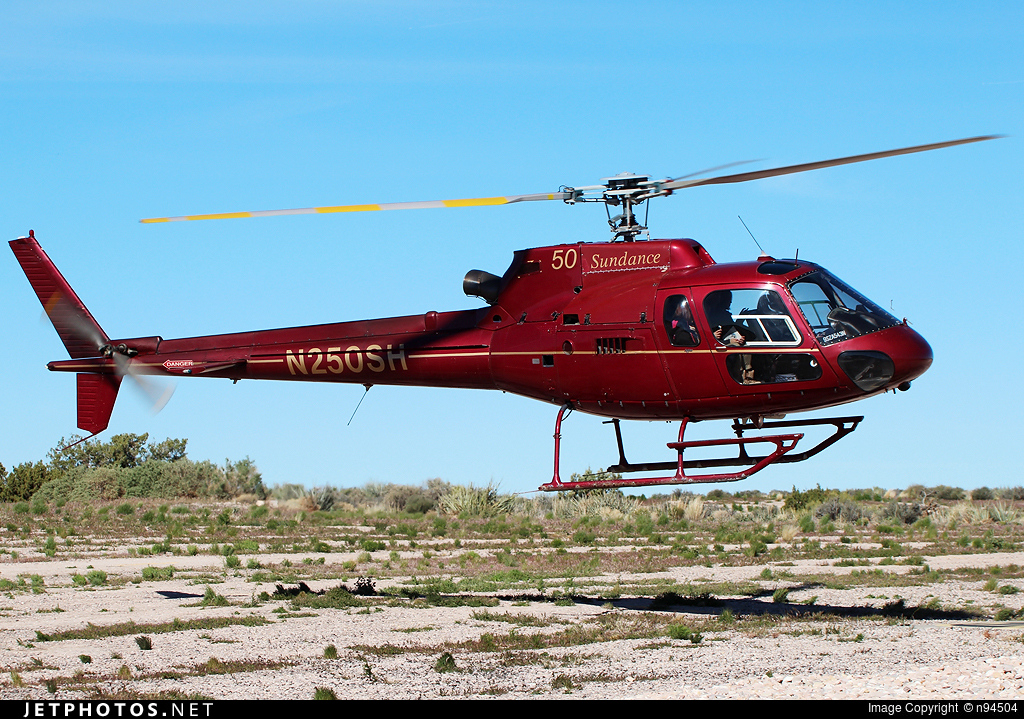 N250SH - Eurocopter AS 350B2 SuperStar - Sundance Helicopters
