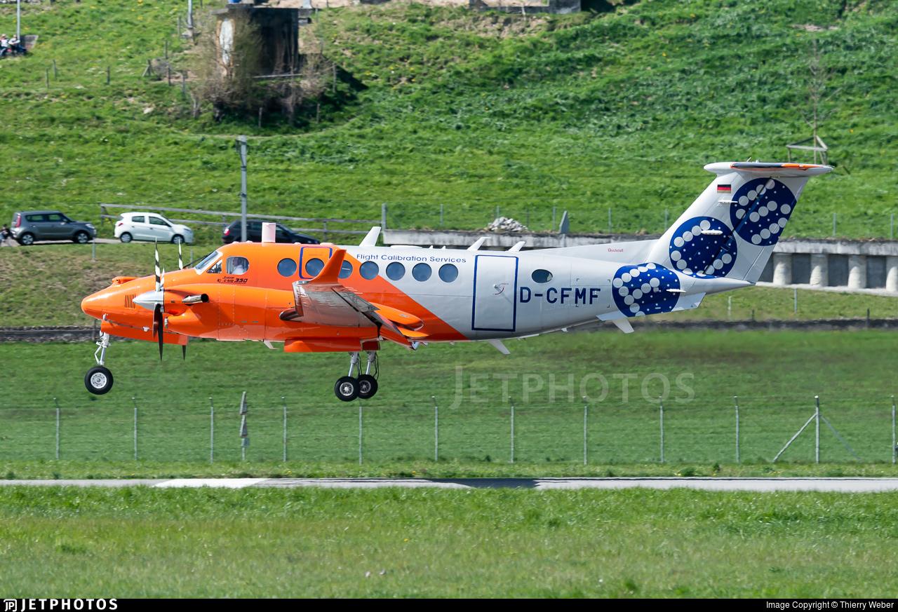 D-CFMF - Beechcraft B300 King Air 350 - Flight Calibration Services (FCS)