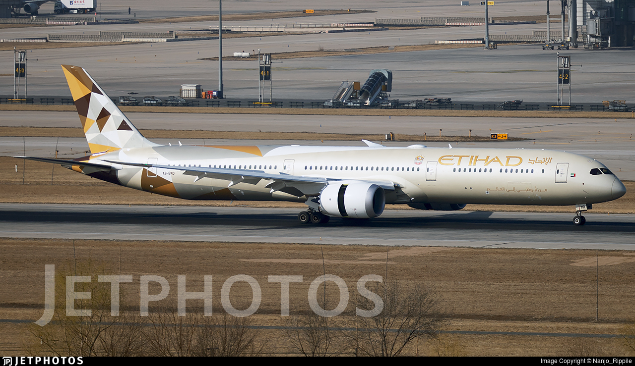 A6-BMD | Boeing 787-10 Dreamliner | Etihad Airways | Nanjo_Rippile