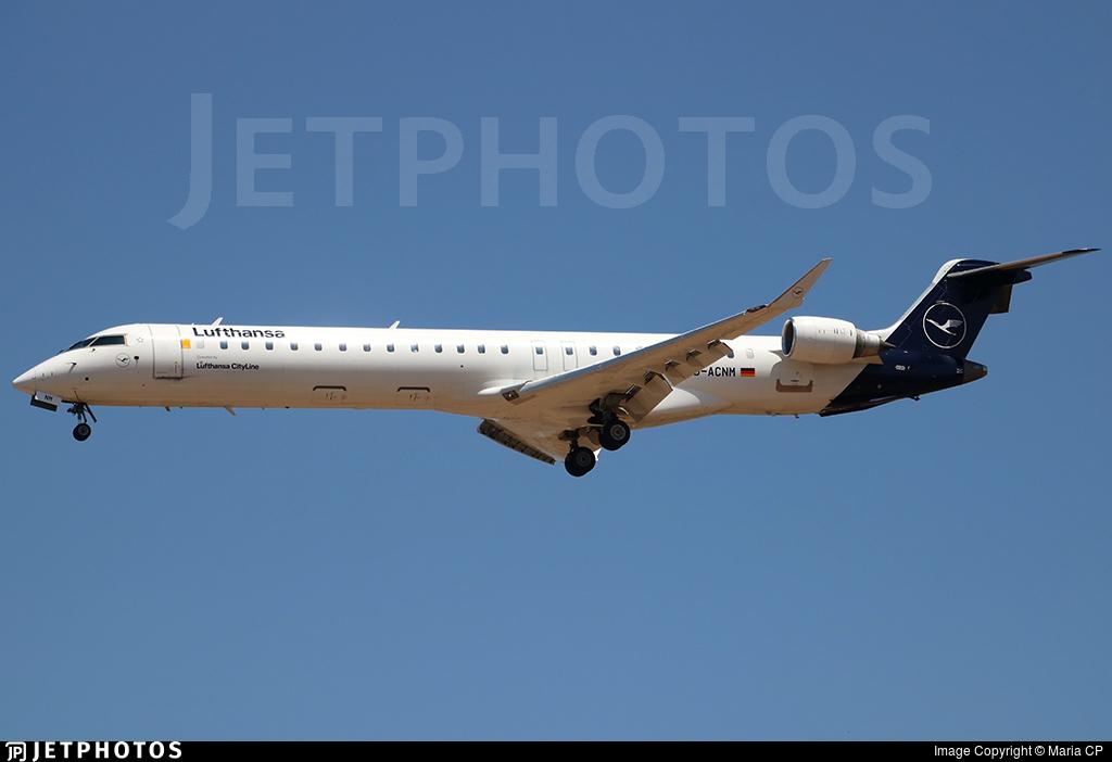 D-ACNM - Bombardier CRJ-900LR - Lufthansa CityLine