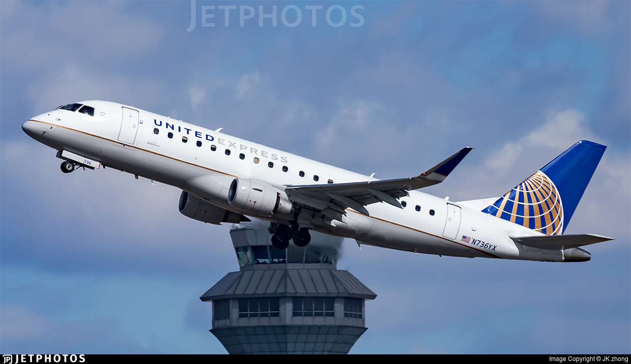 N736YX - Embraer 170-200LR - United Express (Republic Airlines)