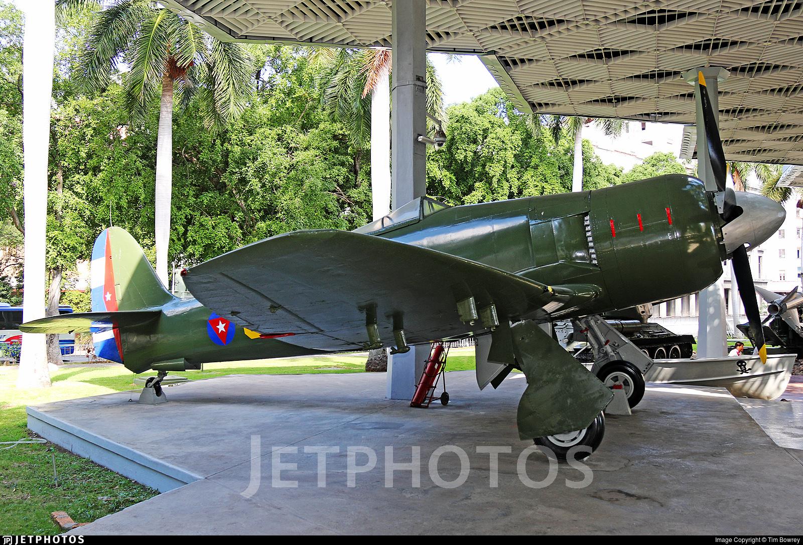 542 - Hawker Sea Fury FB.11 - Cuba - Air Force