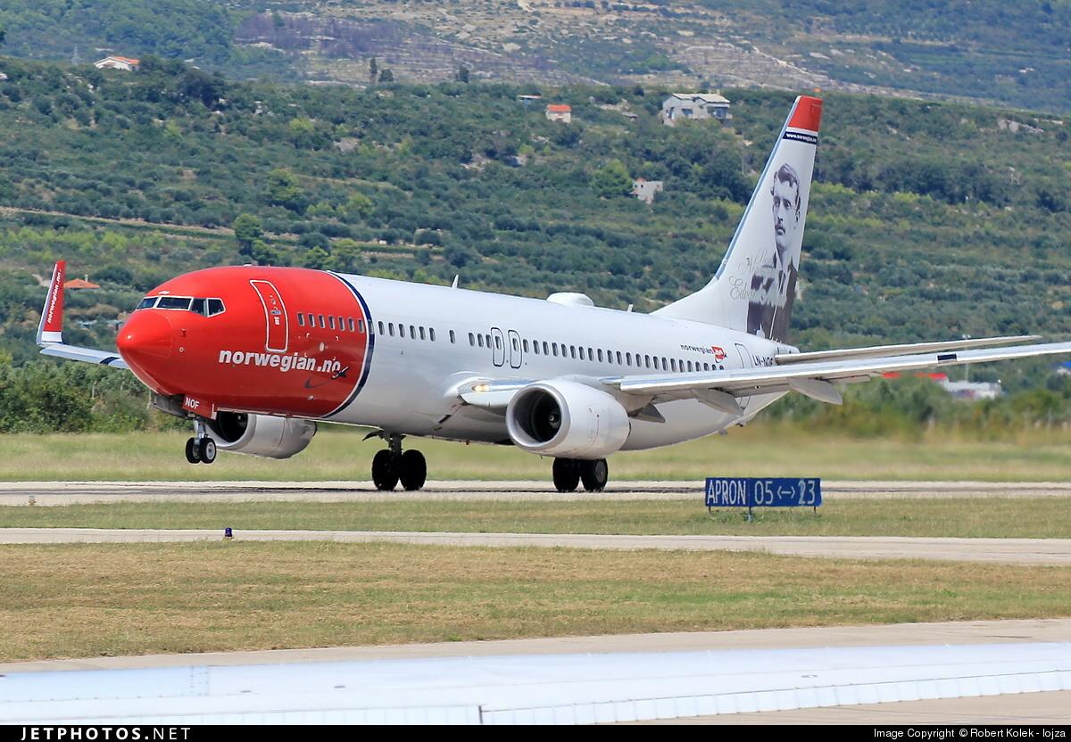LN-NOF - Boeing 737-86N - Norwegian