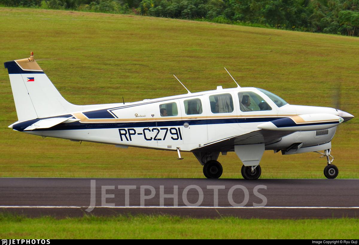 RP-C2791 - Beechcraft A36 Bonanza - Private
