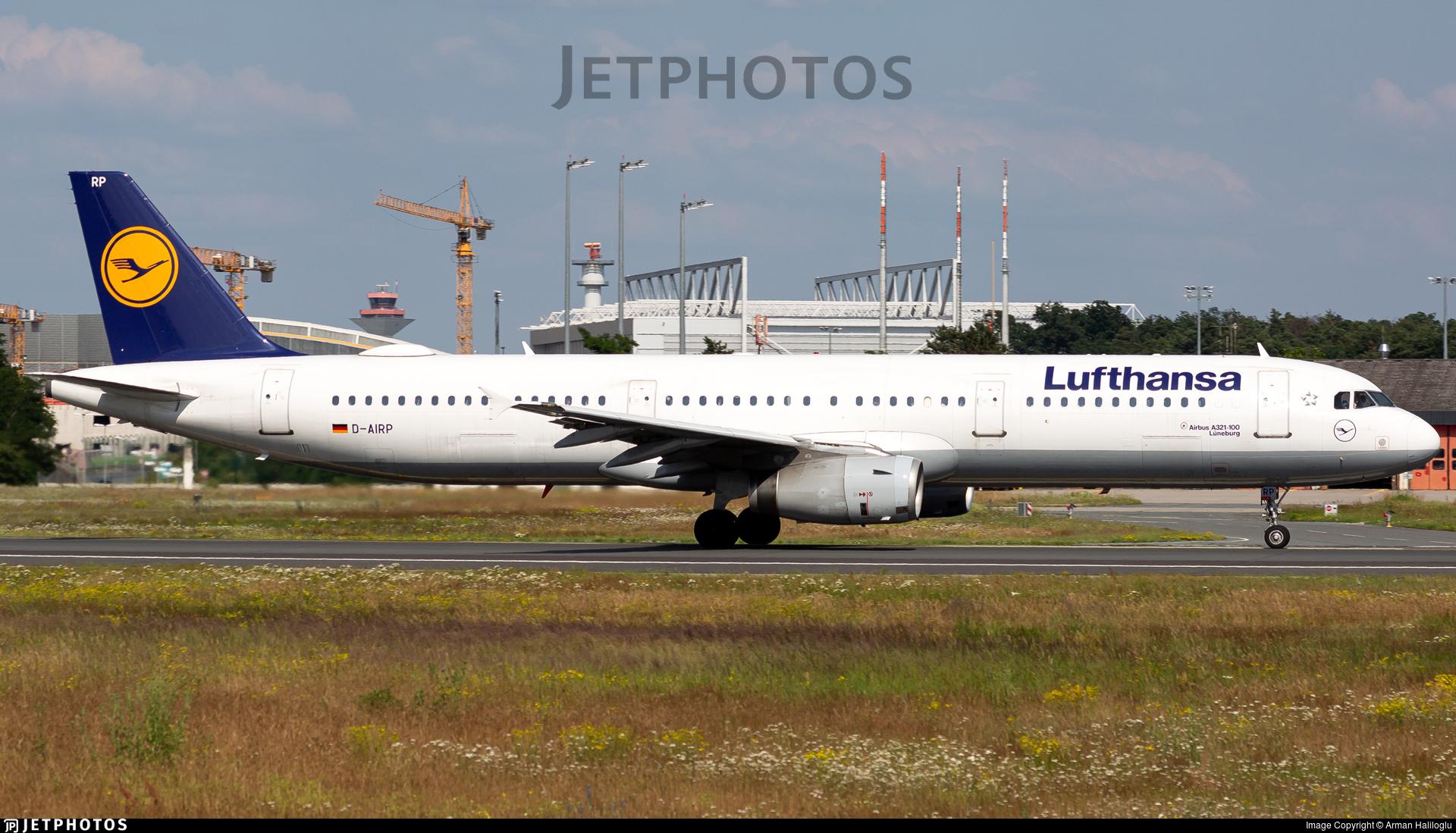 D-AIRP - Airbus A321-131 - Lufthansa