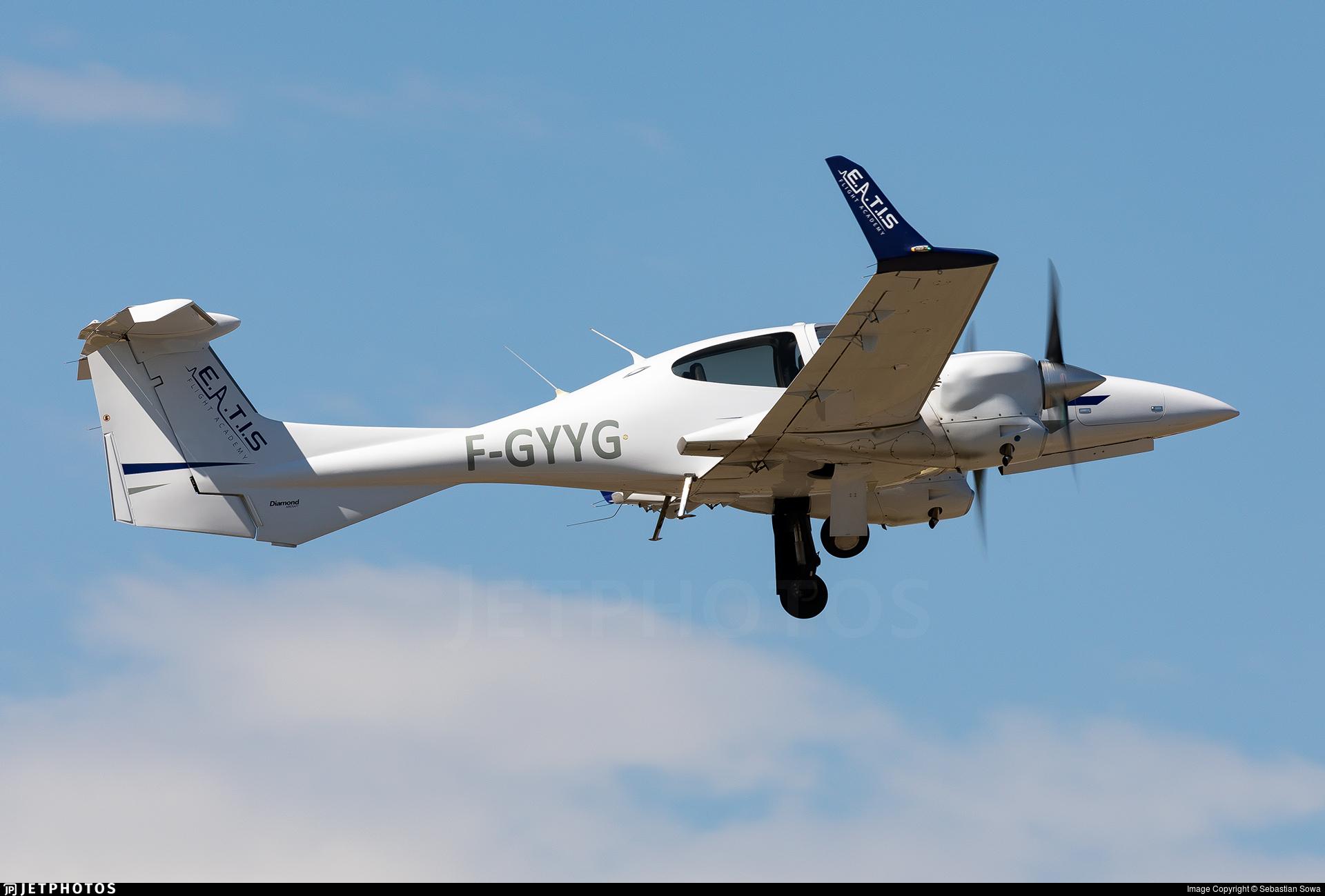 F-GYYG - Diamond DA-42 NG Twin Star - European Aero Training Institute Strasbourg (E.A.T.I.S)