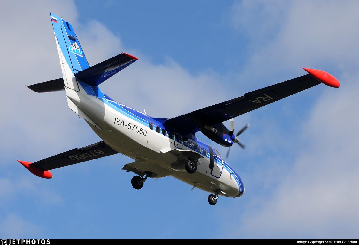 RA-67060 - Let L-410UVP-E20 Turbolet - Siberian Light Aviation (SiLA)