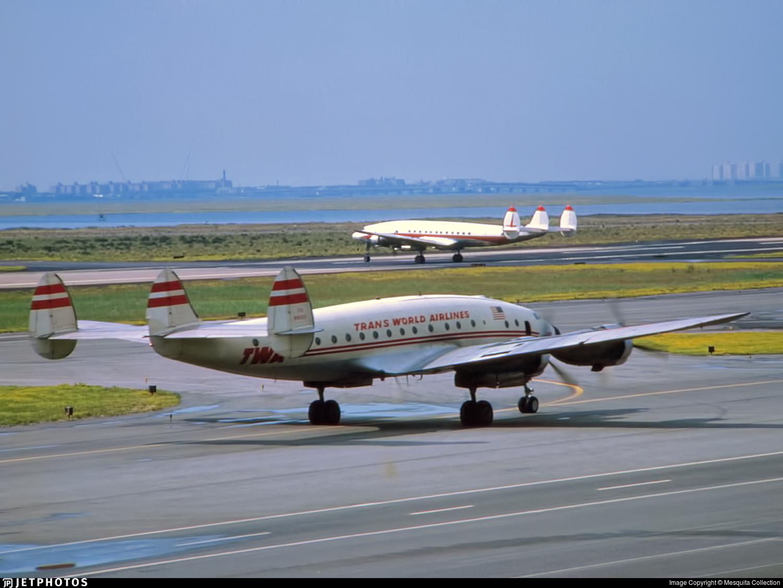 N91212 - Lockheed L-749 Constellation - Trans World Airlines (TWA)