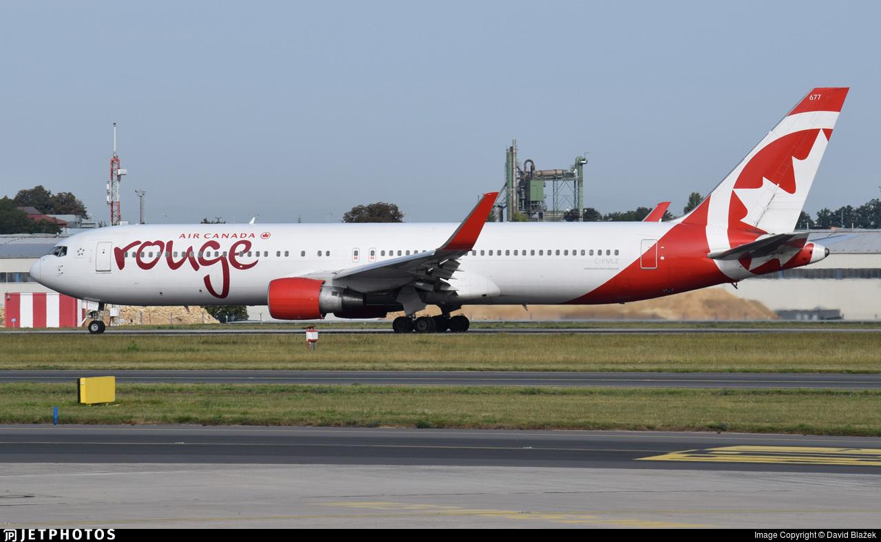 C-FMLZ - Boeing 767-316(ER) - Air Canada Rouge