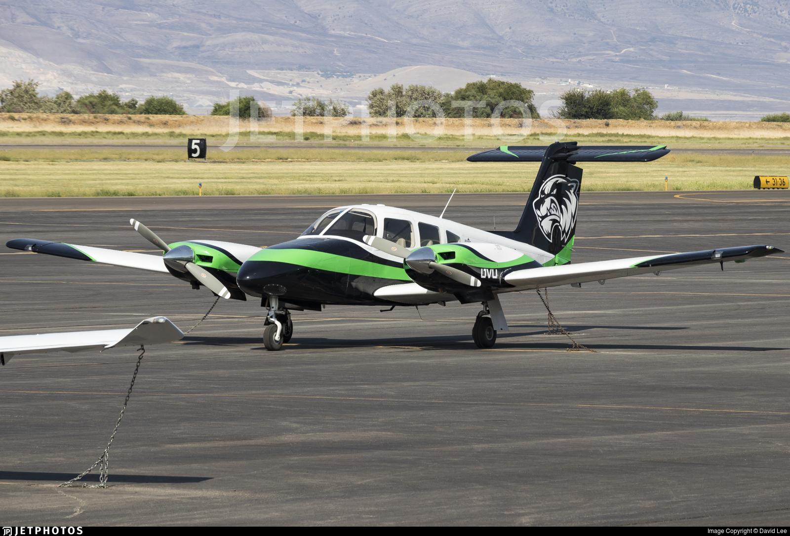 N488UV - Piper PA-44-180 Seminole - Utah Valley University