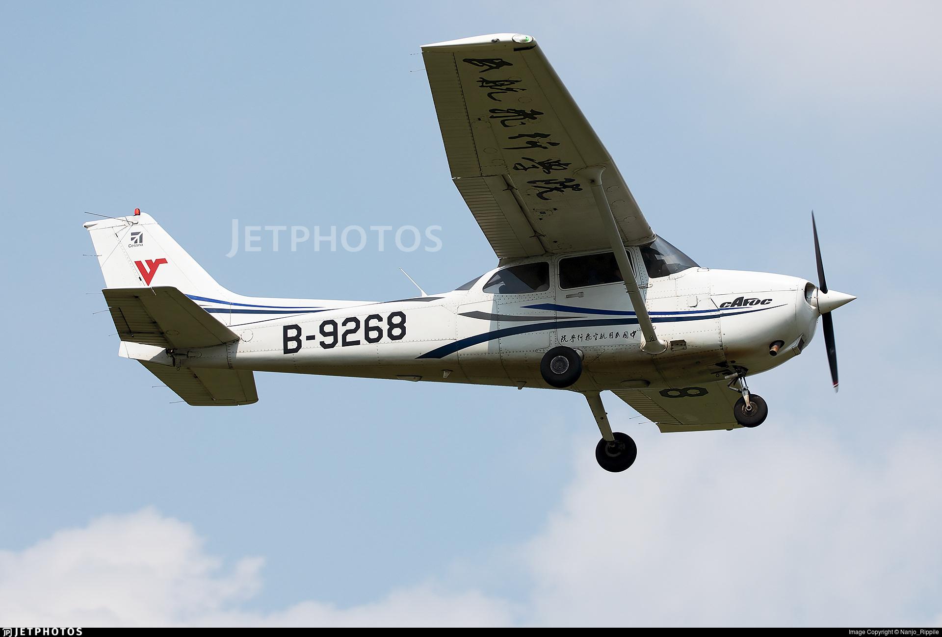 B-9268 - Cessna 172R Skyhawk - Civil Aviation Flight University of China