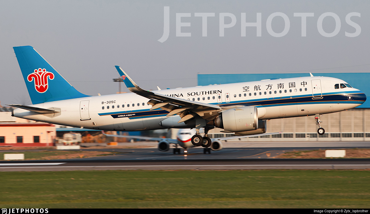 B-305C - Airbus A320-251N - China Southern Airlines