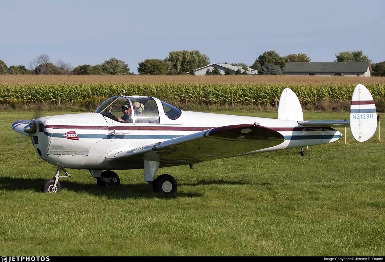 N2139H - Erco 415C Ercoupe - Private