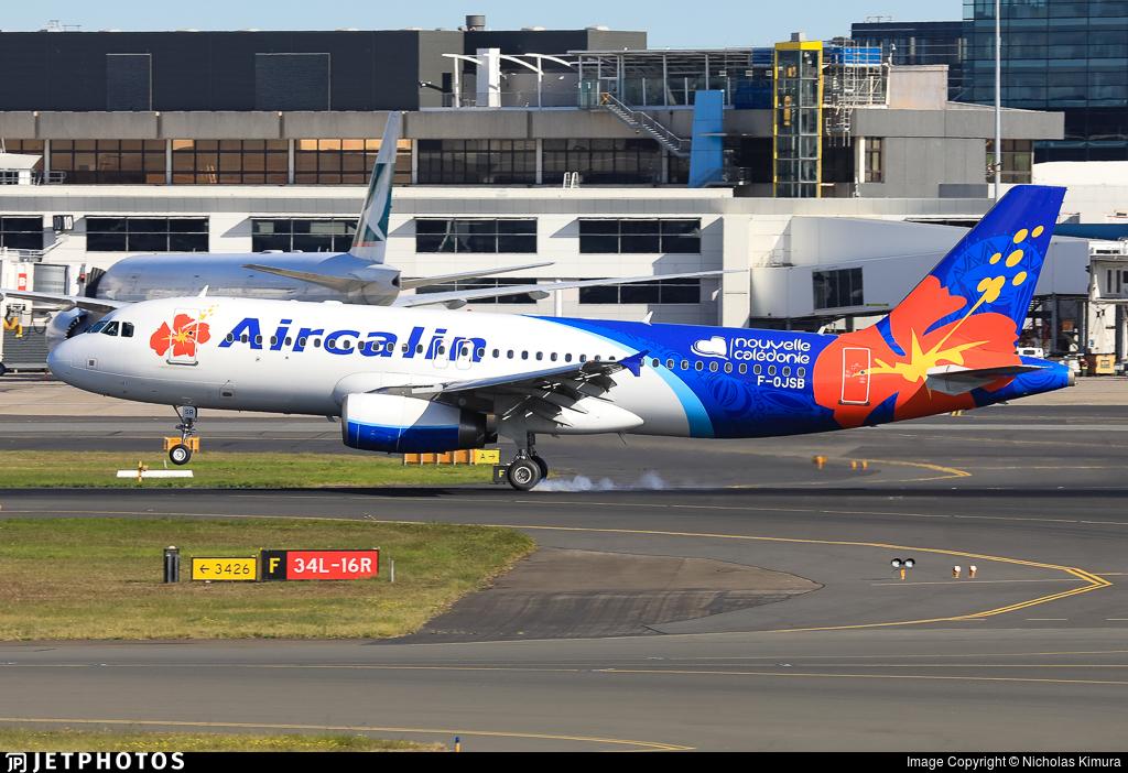 F-OJSB - Airbus A320-232 - Aircalin