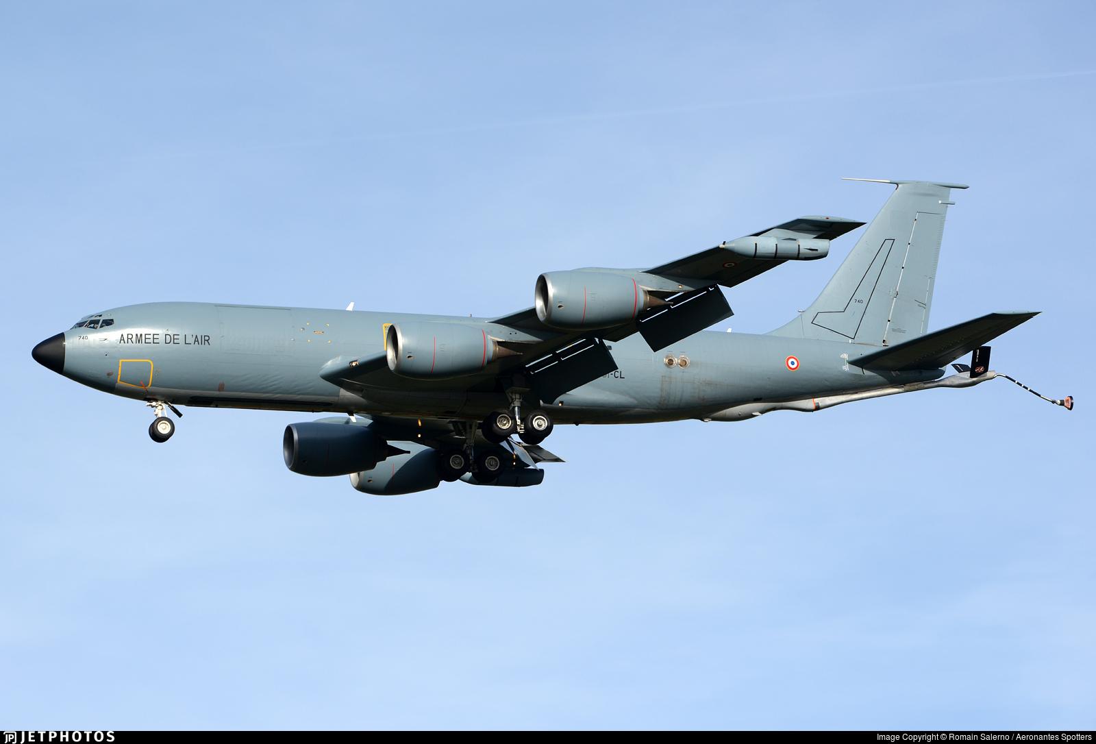 740 - Boeing C-135FR Stratotanker - France - Air Force