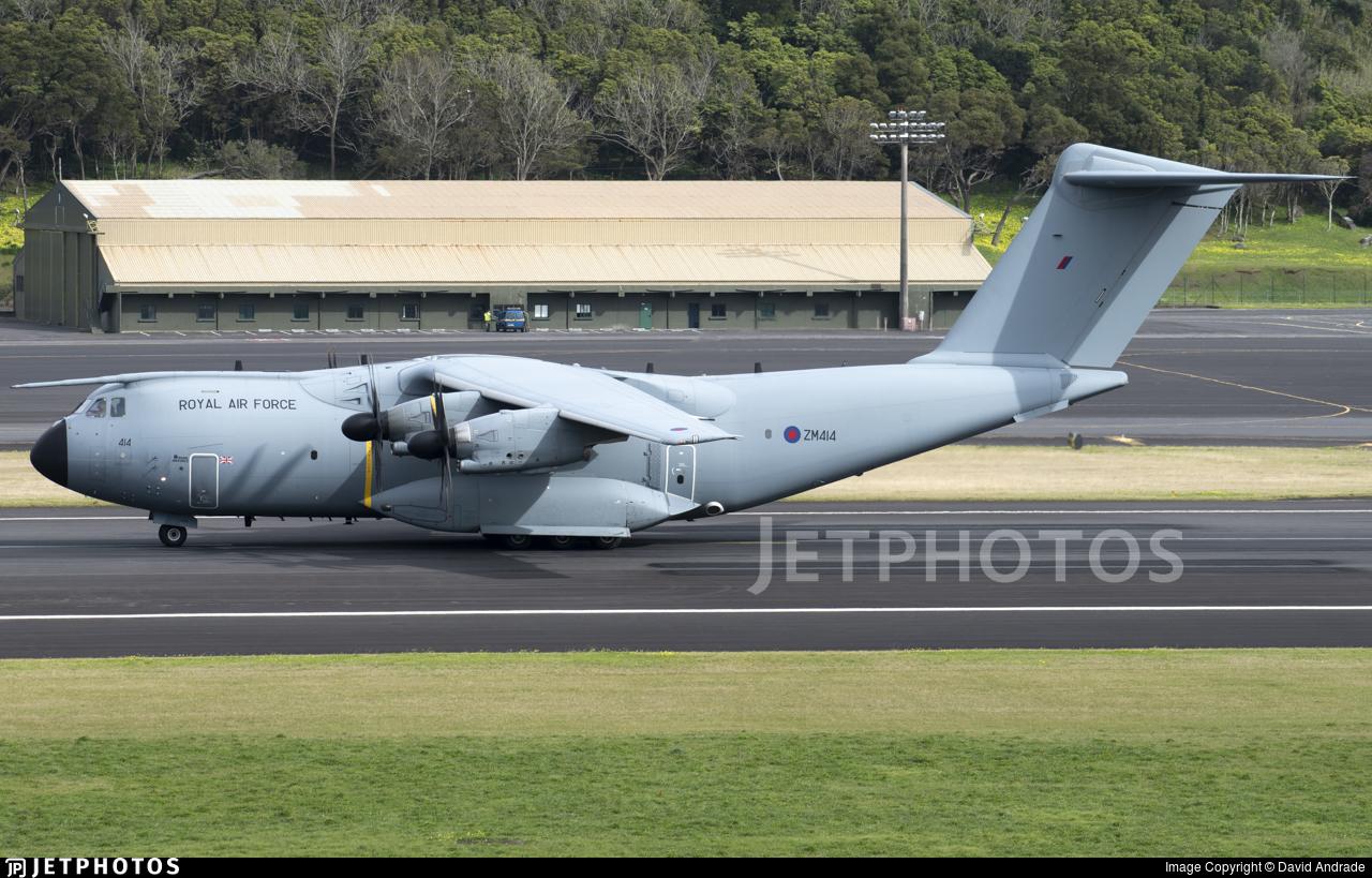 ZM414 - Airbus A400M Atlas C.1 - United Kingdom - Royal Air Force (RAF)