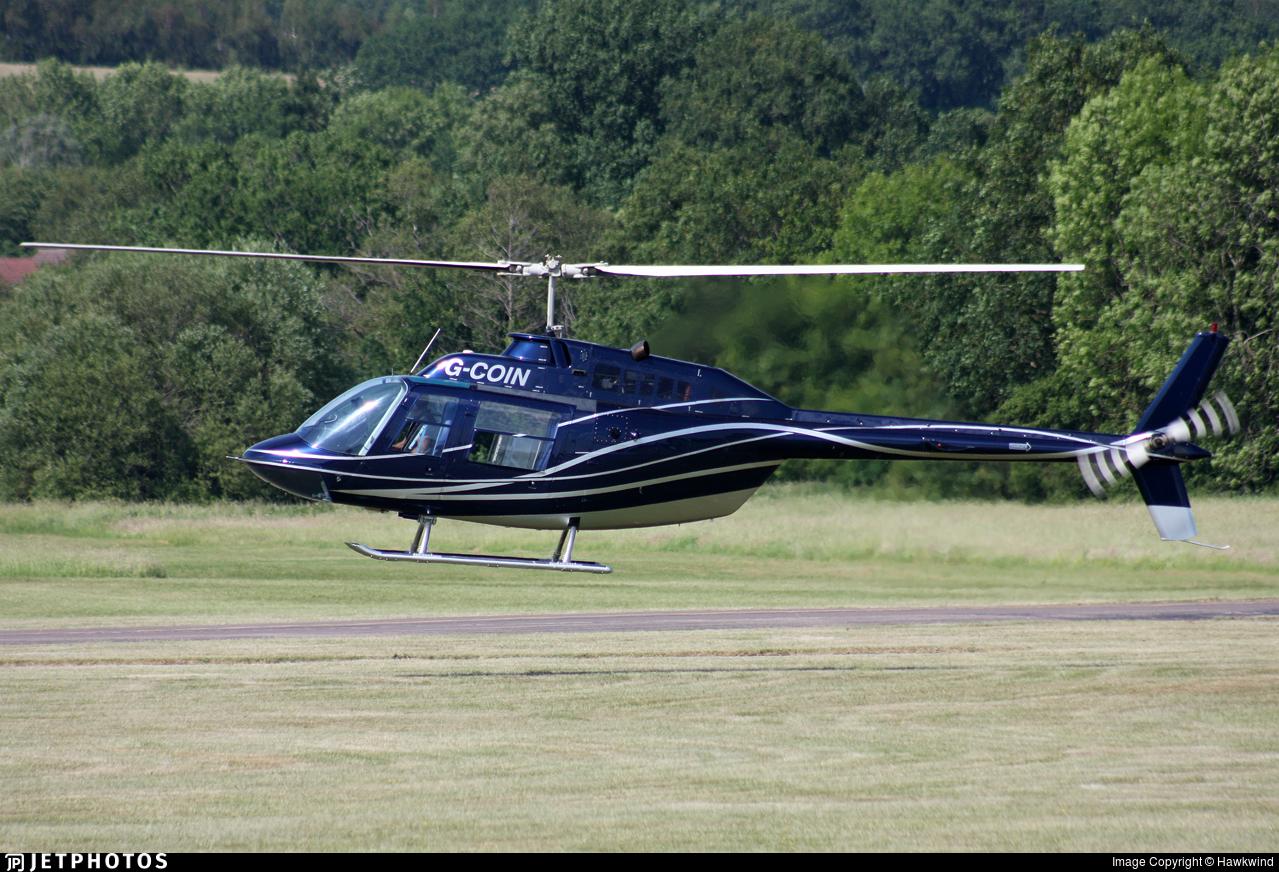 G-COIN - Bell 206B JetRanger II - Private