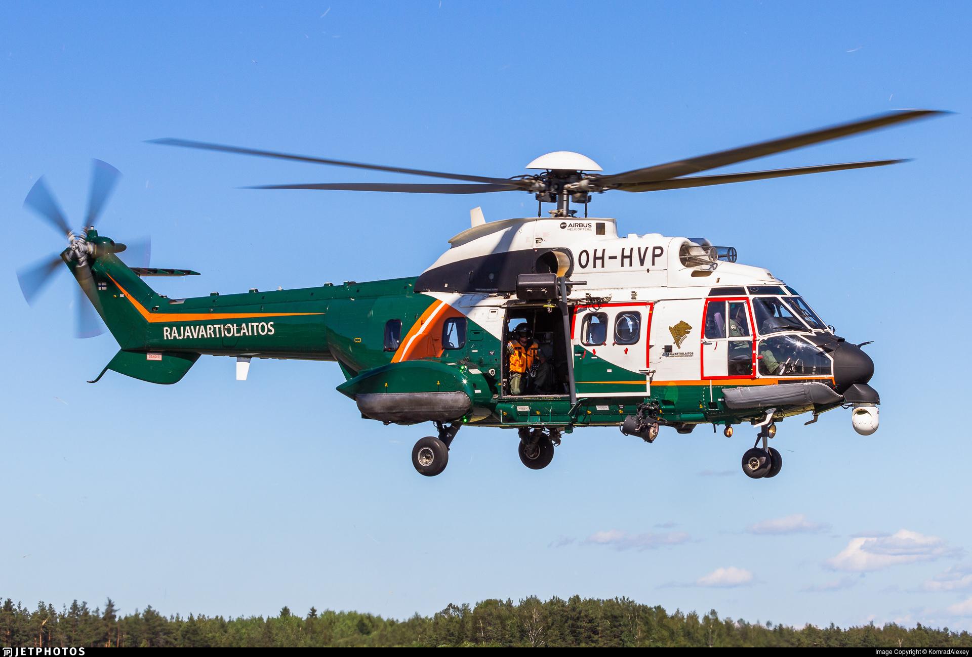 OH-HVP - Aérospatiale AS 332L1 Super Puma - Finland - Frontier Guard