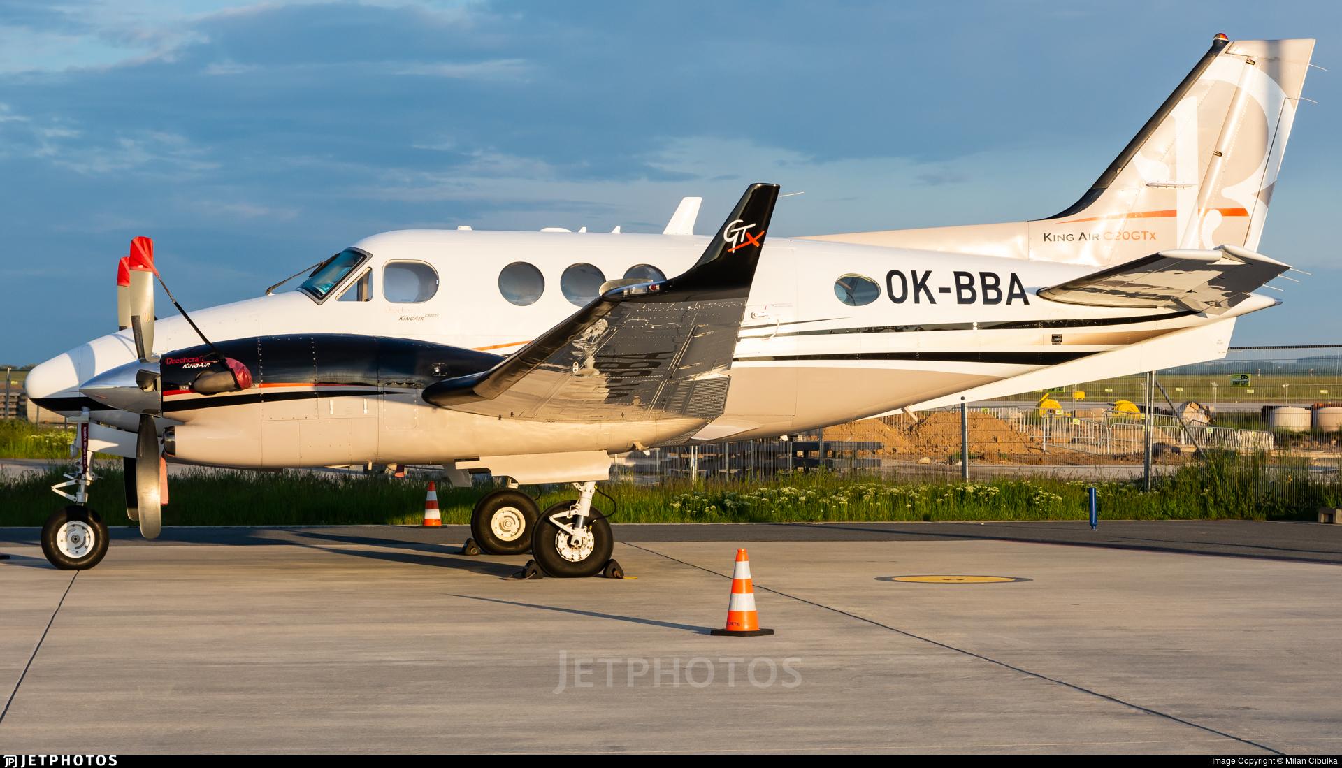OK-BBA - Beechcraft C90GTx King Air - Private