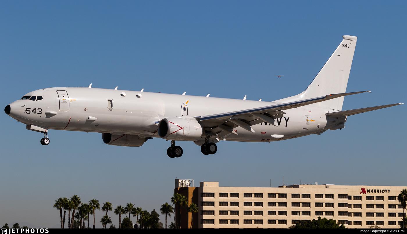 169543 - Boeing P-8A Poseidon - United States - US Navy (USN)