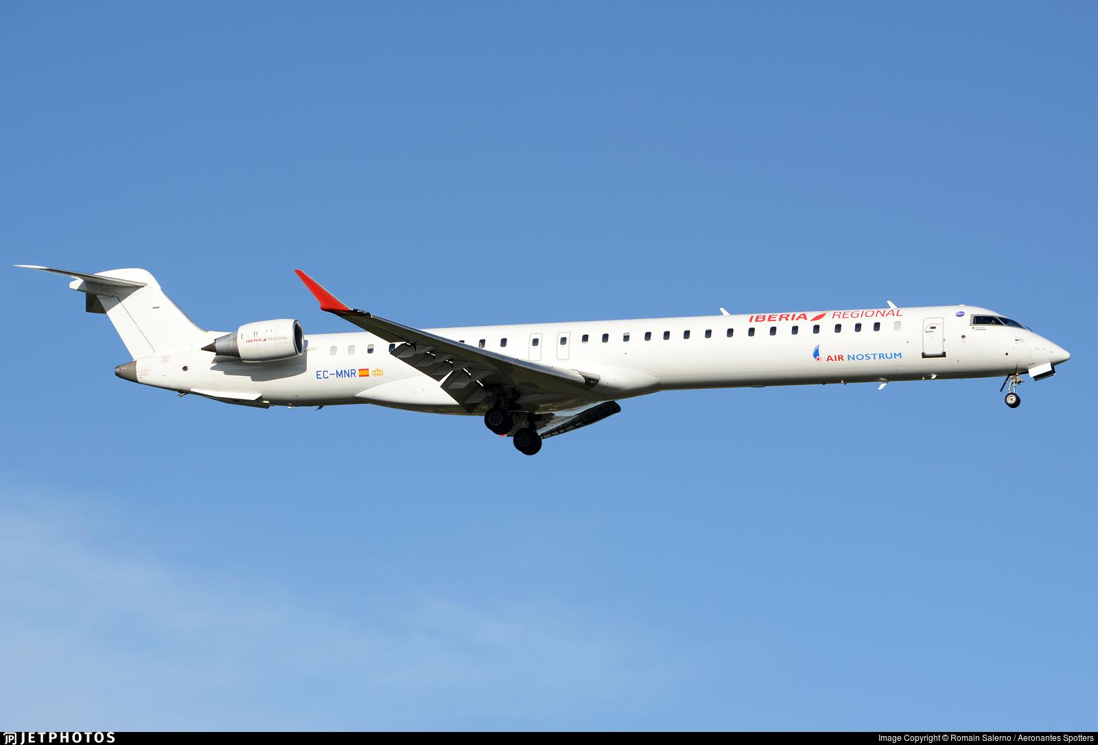 EC-MNR - Bombardier CRJ-1000 - Iberia Regional (Air Nostrum)
