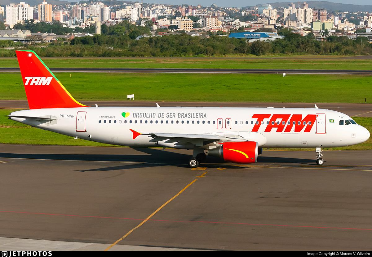 PR-MHP - Airbus A320-214 - TAM Linhas Aéreas