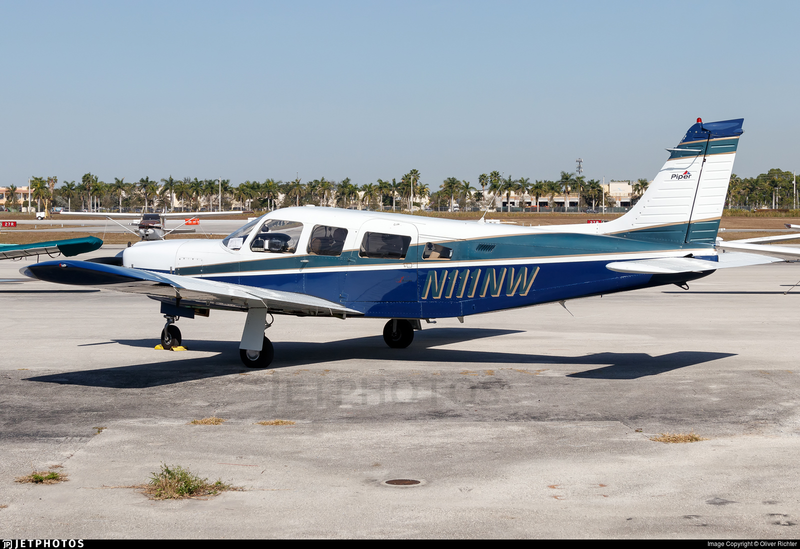 N111NW - Piper PA-32R-300 Cherokee Lance - Private