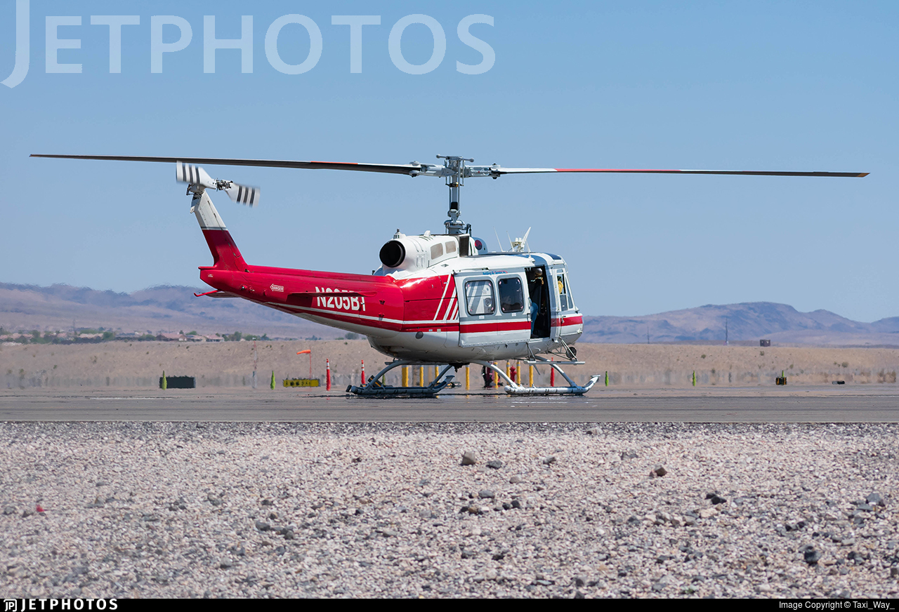 N205BT - Bell 205A-1 - Redding Air Service