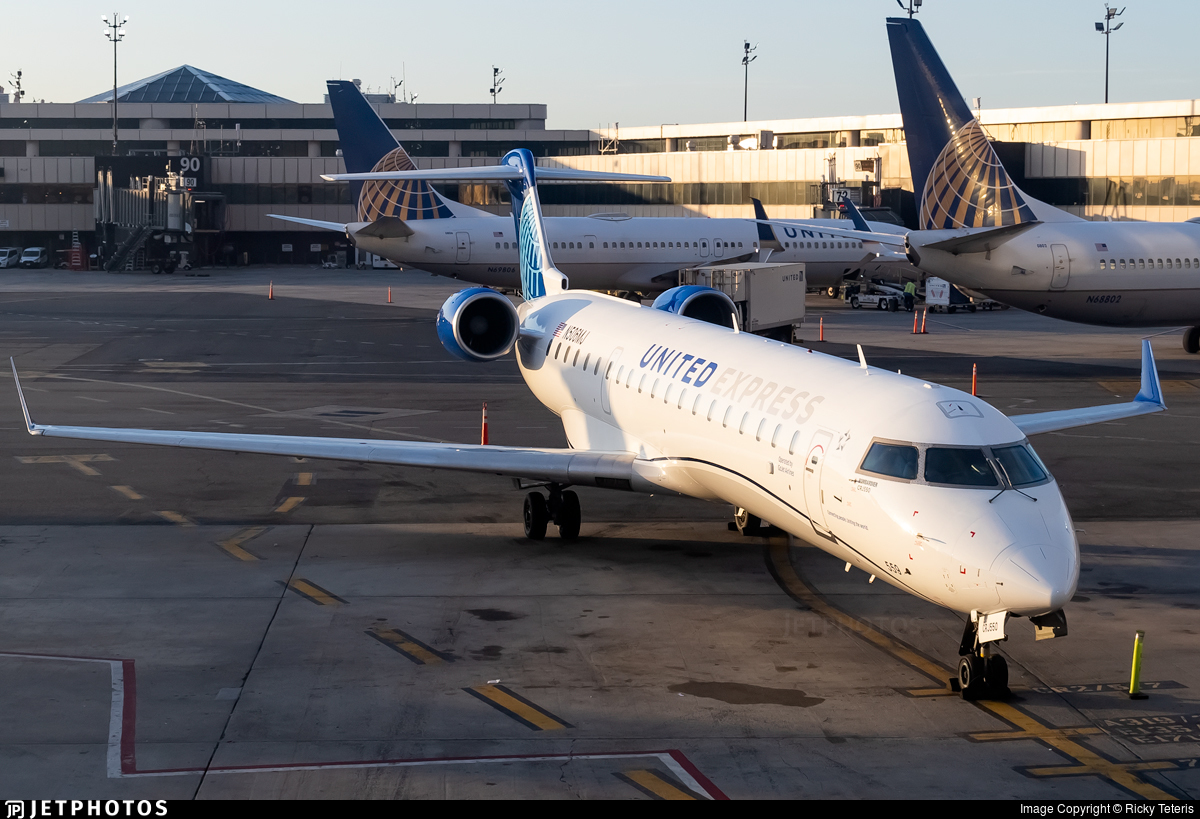 N506MJ - Bombardier CRJ-550 - United Express (GoJet Airlines)