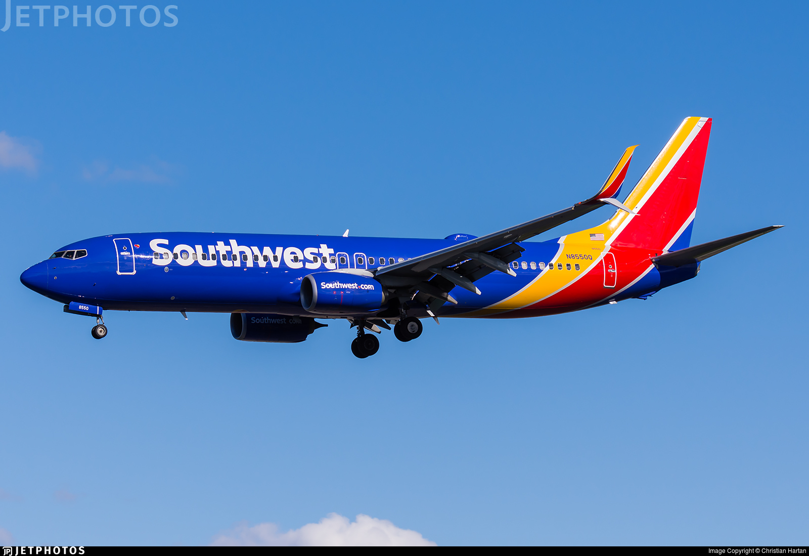 N8550Q - Boeing 737-8H4 - Southwest Airlines