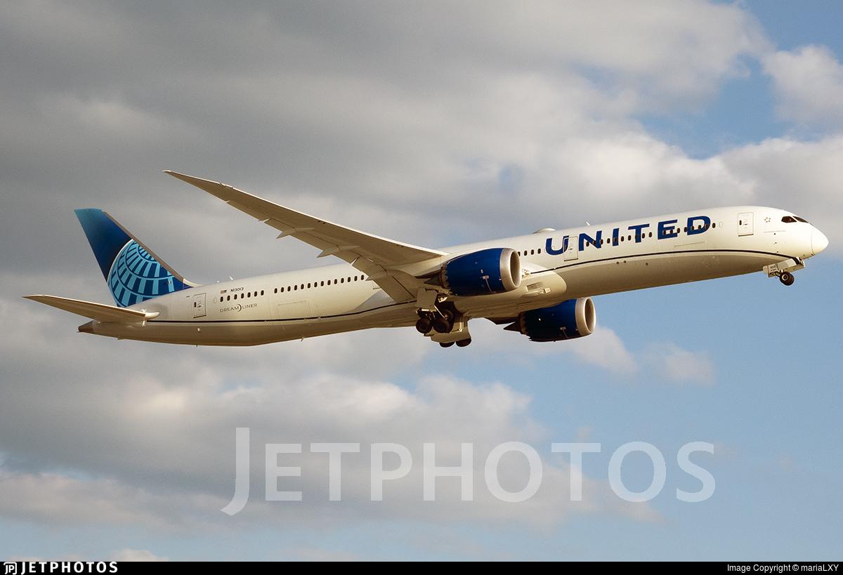 N13013 - Boeing 787-10 Dreamliner - United Airlines
