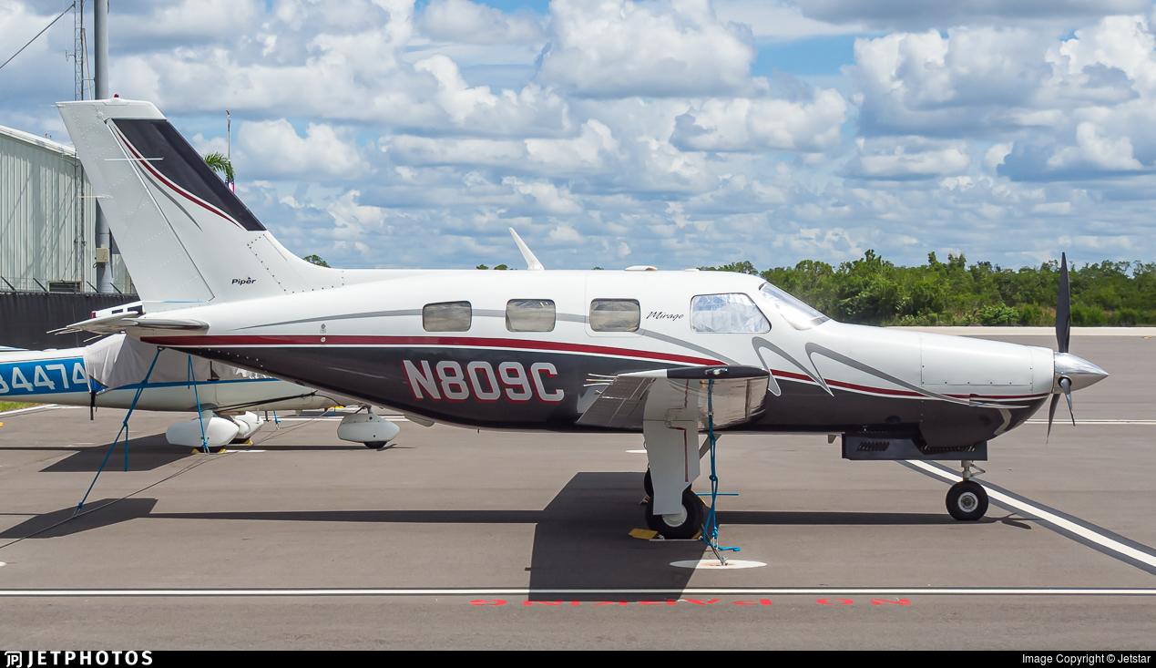 N809C - Piper PA-46-350P Malibu Mirage - Private
