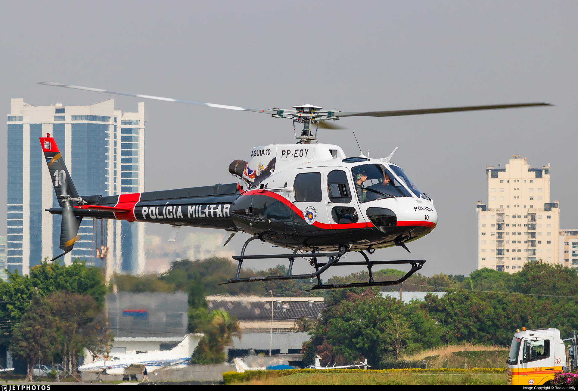 PP-EOY - Helibrás HB-350B Esquilo - Brazil - Military Police