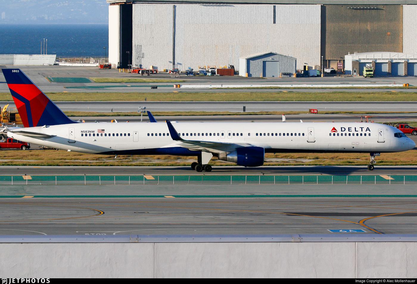 N583NW - Boeing 757-351 - Delta Air Lines