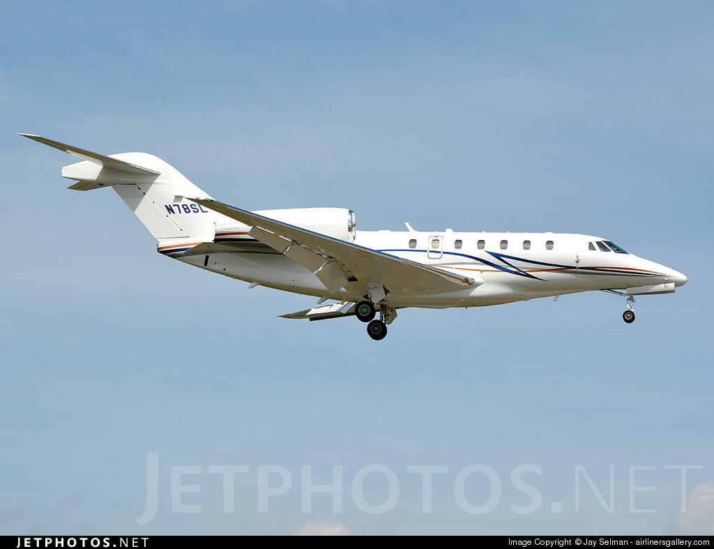 N78SL - Cessna 750 Citation X - Private