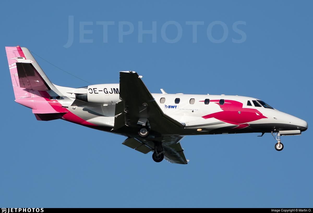 OE-GJM - Cessna 560XL Citation XLS - Pink Sparrow