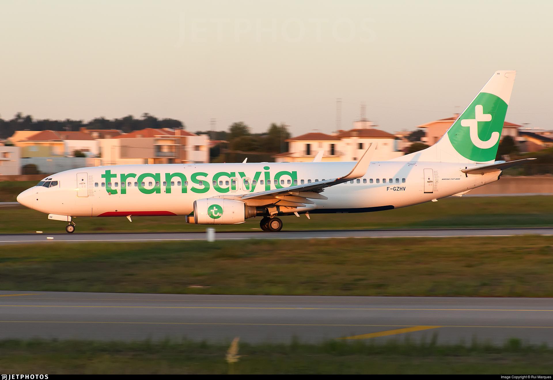 F-GZHV - Boeing 737-85H - Transavia France
