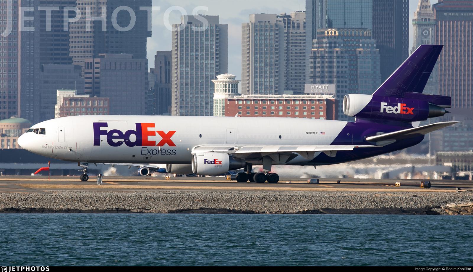 N383FE - McDonnell Douglas MD-10-10(F) - FedEx