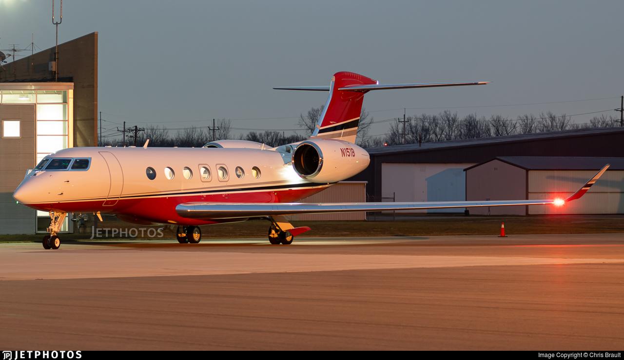 N151B - Gulfstream G600 - Private