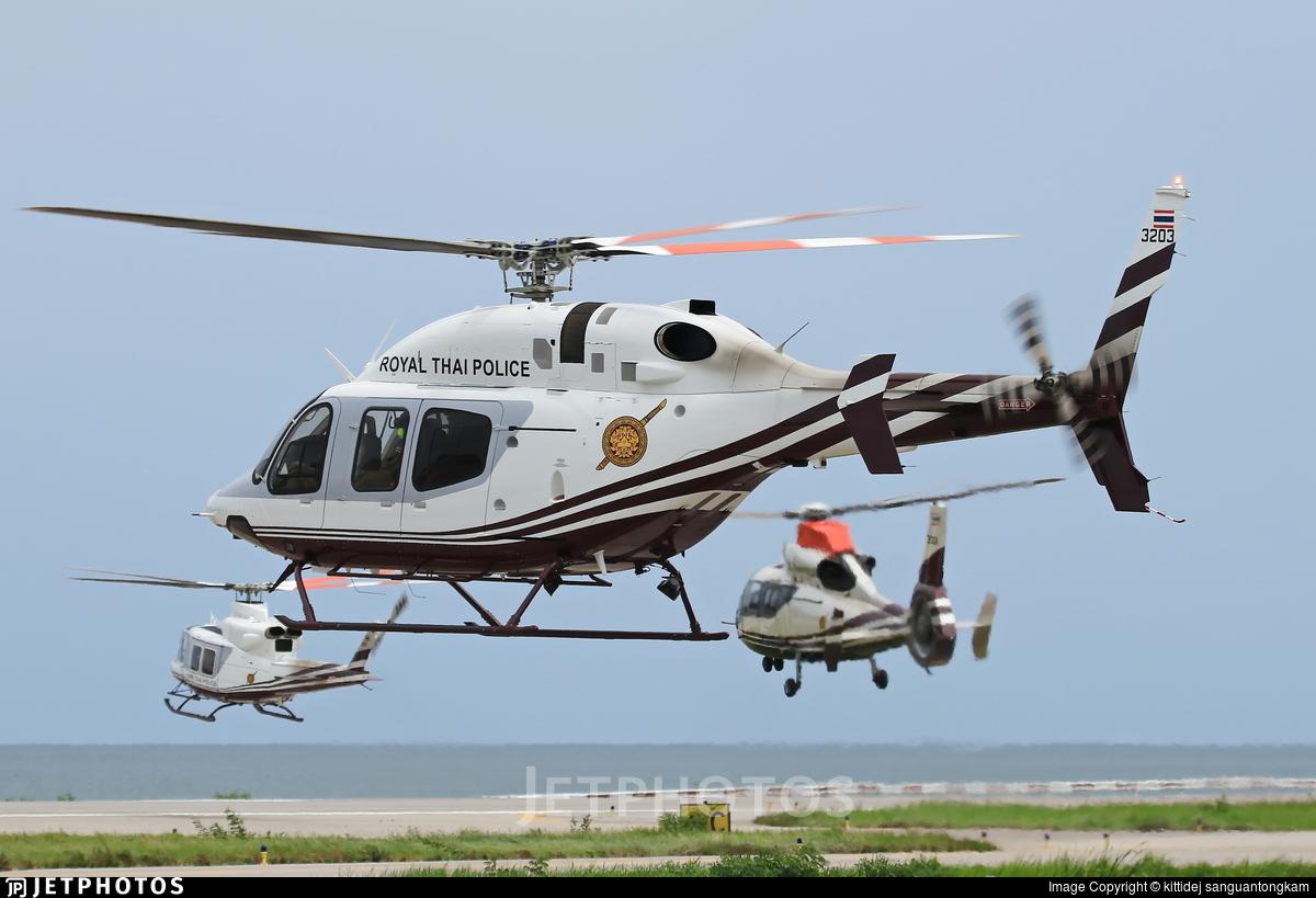 3203 - Bell 429 Global Ranger - Thailand - Royal Thai Police Wing