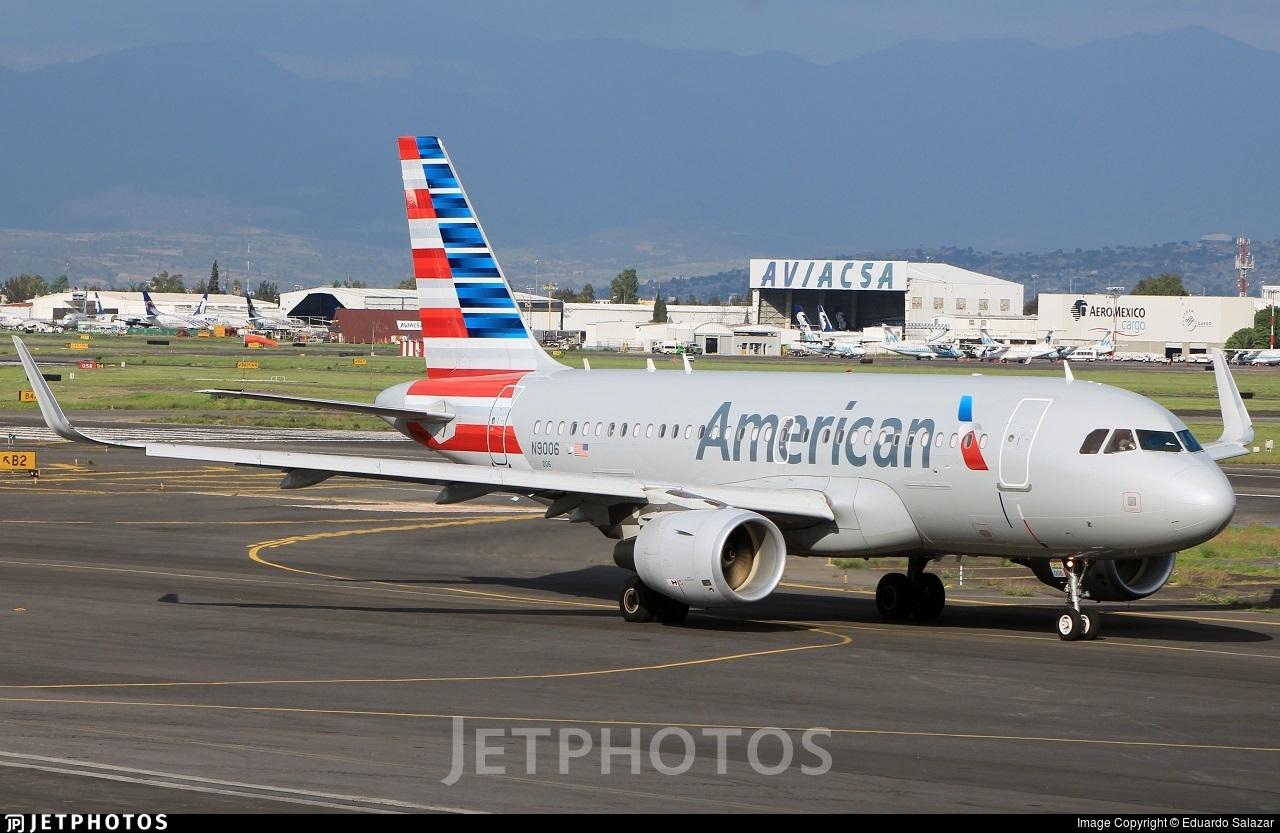 N9006 - Airbus A319-115 - American Airlines