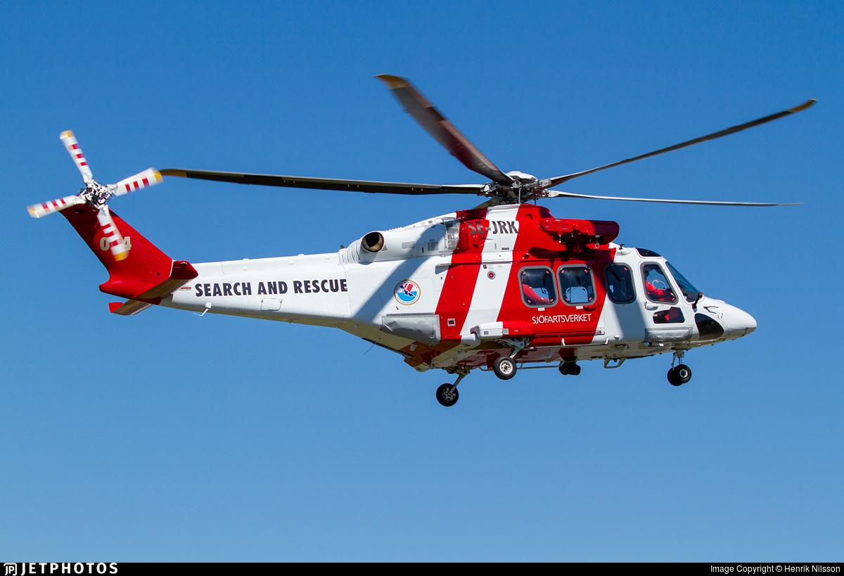 SE-JRK - Agusta-Westland AW-139 - Sweden - Swedish Maritime Administration