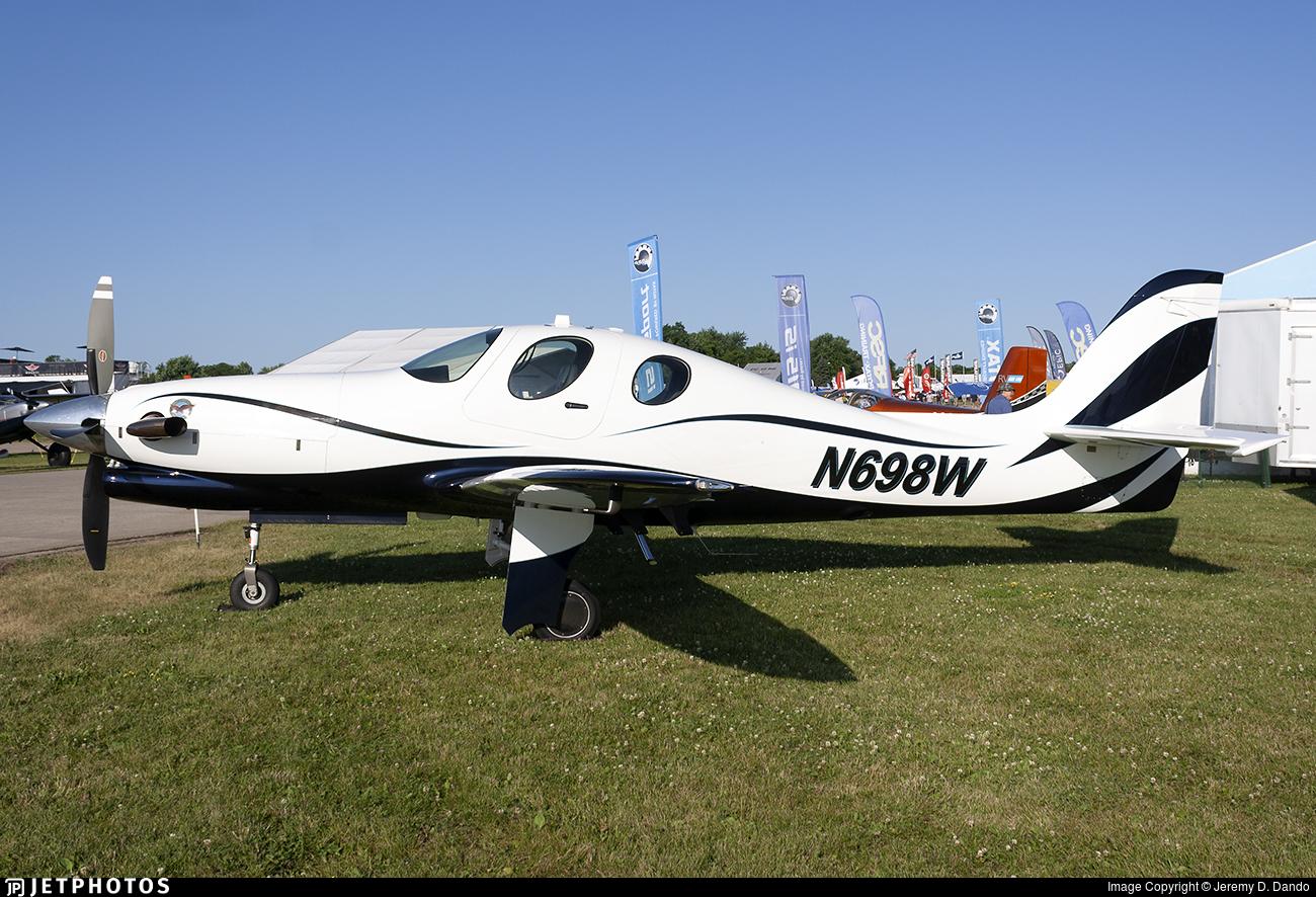 N698W - Lancair Evolution - Private