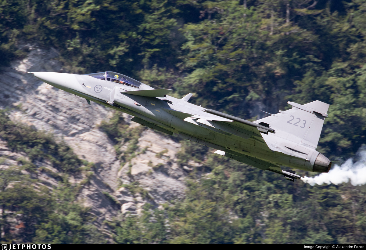 39223 - Saab JAS-39C Gripen - Sweden - Air Force